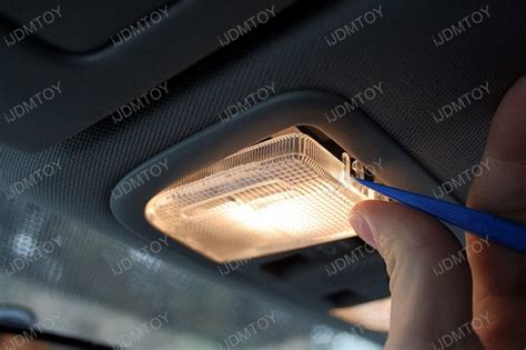 car light installation shop honda civic si sedan led interior dome map lights installation