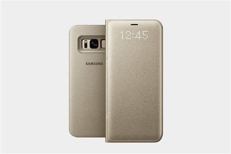 Official Samsung Led Flip Wallet Galaxy S8 Orchid Grey protect your phone with the best samsung galaxy s8 cases