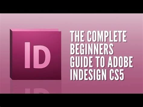 indesign tutorials for beginners pdf adobe indesign for beginners tutorial course overview
