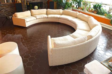 circular sectional sofa milo baughman for thayer coggin circular sectional sofa at