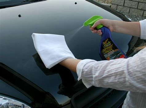 Hoe Zwarte Auto Polieren by How To Get Great Results With Meguiar S Spray Wax