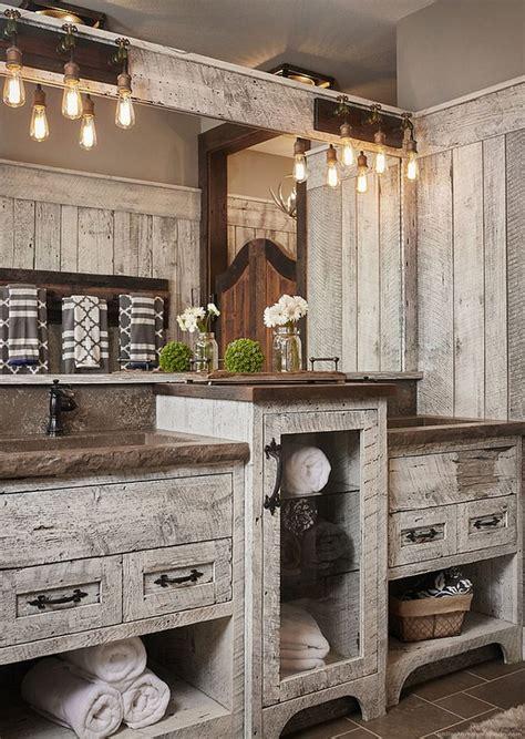 modern bathroom rustic decor ideas 09