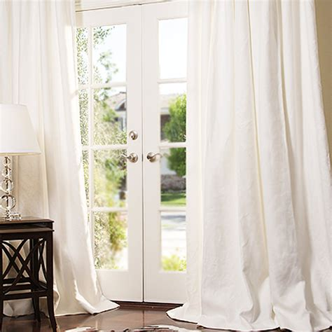 how to iron linen curtains drapestyle the custom drapes house and garden called
