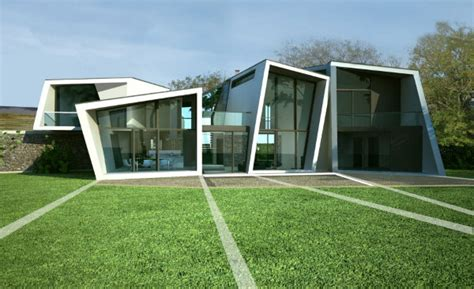 farm houses quot wow quot factor at modern badgers view farm house by lewis hickey modern house designs