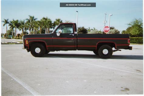 how long is a long bed truck 1980 chevy silverado