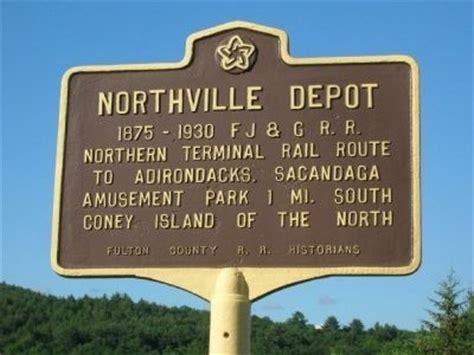 northville depot historical marker