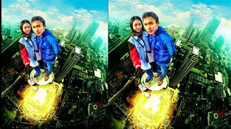 cara edit foto overexposure cara edit foto diatas menara tutorial picsay pro youtube