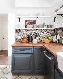 spanish california home the kitchen emily henderson portugese tile stencils portugese and spansih tile