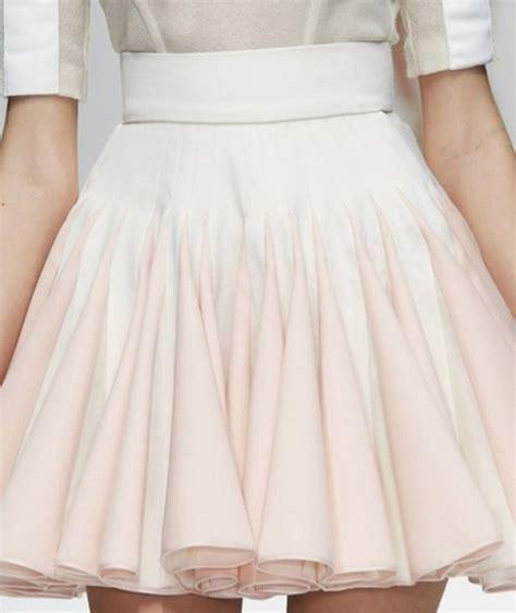 light pink pleated skirt skirt white pink pastel pink skirt light pink skirt