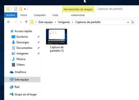 donde guarda windows 10 las imagenes de los temas c 243 mo hacer una captura de pantalla en windows 10