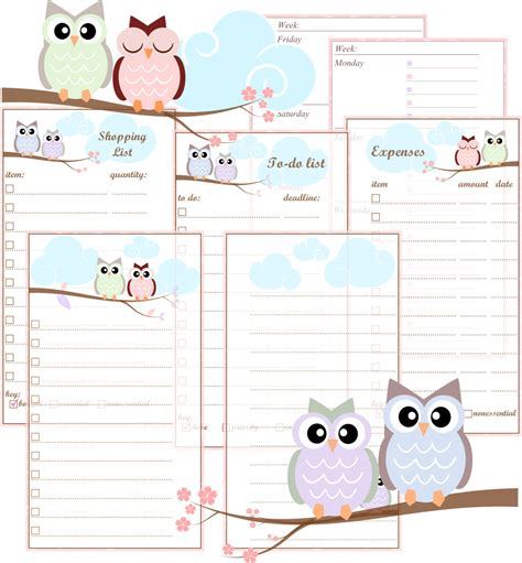 free printable planner filofax 7 best images of free printable filofax personal inserts