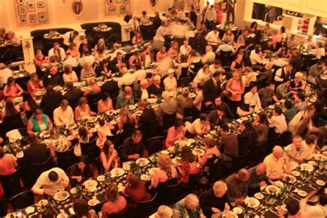 Dinner, The Carlos Gardel Tango Show, Buenos Aires, Argentina