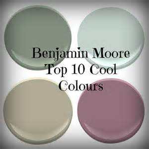 Benjamin Moore Most Popular Greens Benjamin Moore Favourite Cool Colours