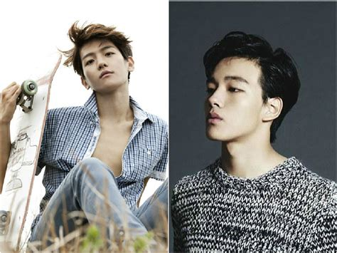 film exo member exo s baekhyun and yeo jin goo confirmed to star in new
