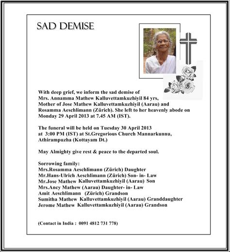 funeral resolution template