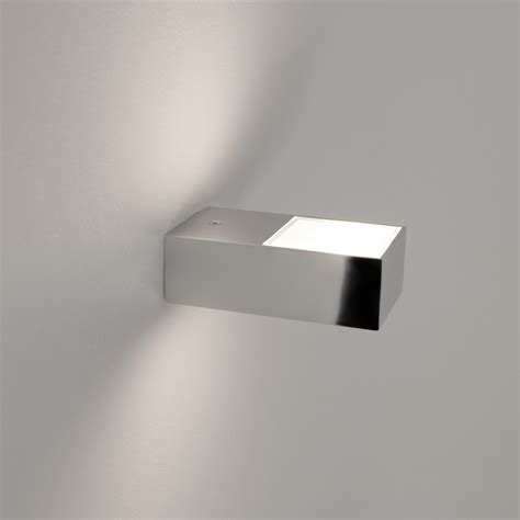 bathroom wall sconces chrome astro lighting kappa single light bathroom wall fitting in polished chrome finish
