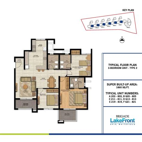 lakefront home floor plans brigade lakefront in whitefield bangalore