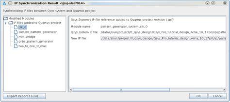 an 812 qsys pro system design tutorial an 812 platform designer system design tutorial