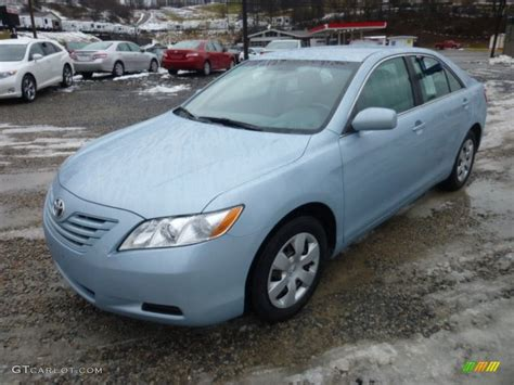 2009 Toyota Camry Le by Sky Blue Pearl 2009 Toyota Camry Le Exterior Photo