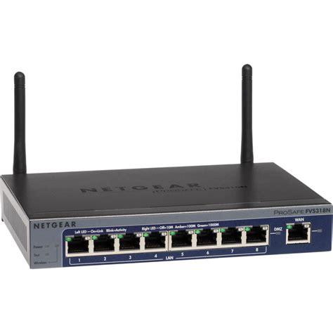 Router Gigabit netgear prosafe wireless 8 port gigabit vpn fvs318n 100nas b h