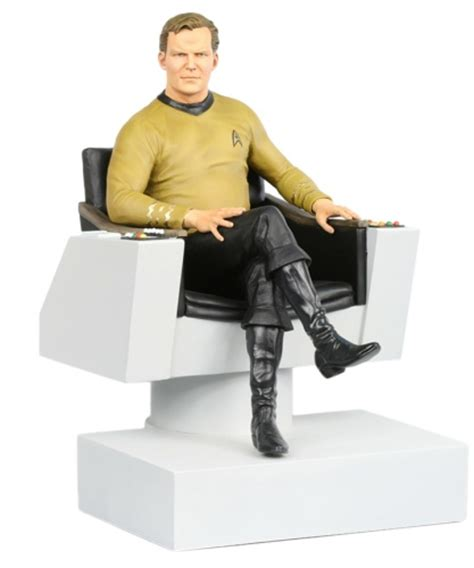 captain kirks hair new star trek statues coming from hollywood collectibles