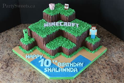 Buttercream Minecraft   Party Sweets Cake Decorating