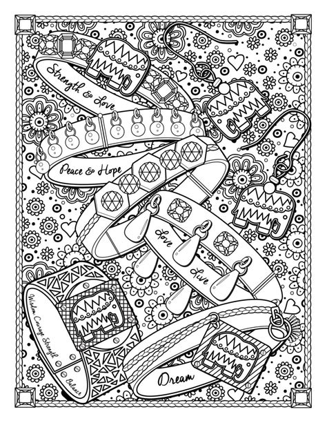 clothes coloring clothing and jewelry fashion clothing and jewelry coloring pages for adults
