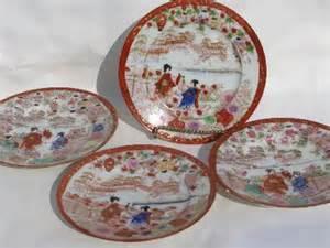 Woolworths Home Decor geisha girl china vintage hand painted japan porcelain