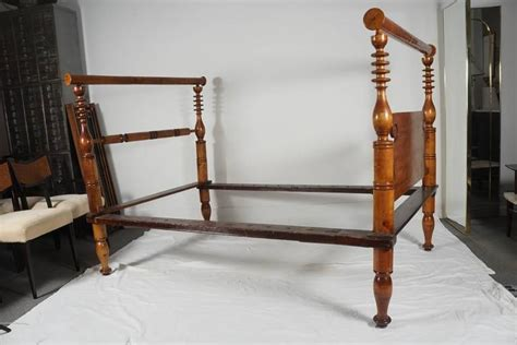 Antique Rope Bed Frame Early American Single Rope Bed Or Daybed At 1stdibs