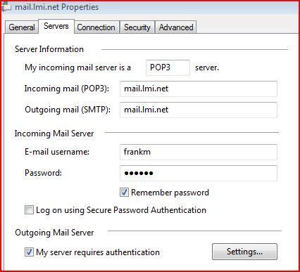 outgoing mail server outgoing mail server tips lmi net