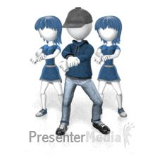 gif format in powerpoint couple slow dancing 3d figures great clipart for