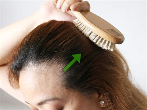 how to brush your hair 9 steps with pictures wikihow how to brush hair with boar and nylon 10 steps with