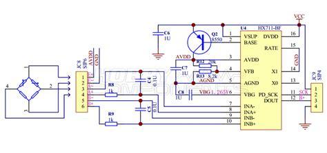 hx bridge sensor digital interface module hcmodu