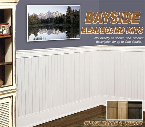 Wide Wainscoting by Bayside Beadboard Kits I Elite Trimworks