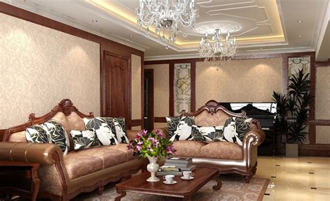 chandeliers in living rooms retro sofa and european style chandelier for living room