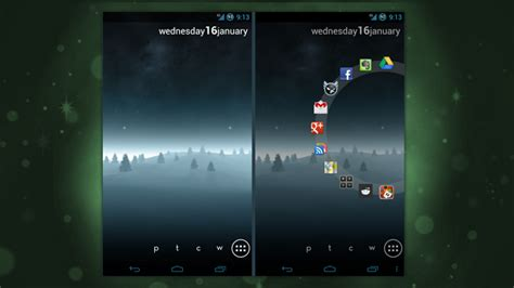 best android home screen the right justified android home screen lifehacker australia