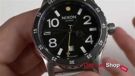 Nixon A277000 Diplomat Ss Black nixon diplomat ss a277 black review by discountshop