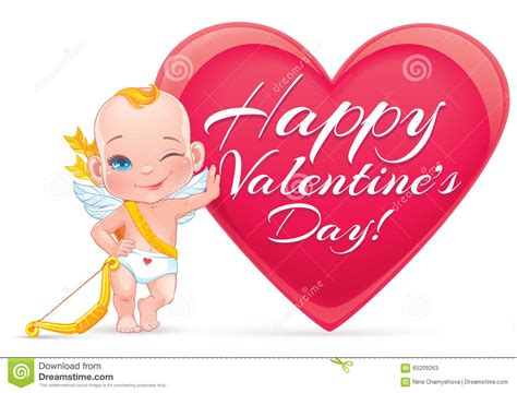 cupid valentines day s day clipart baby pencil and in color