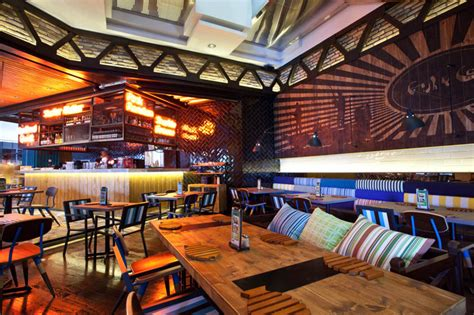 retail design indonesia fish co restaurant by metaphor jakarta indonesia
