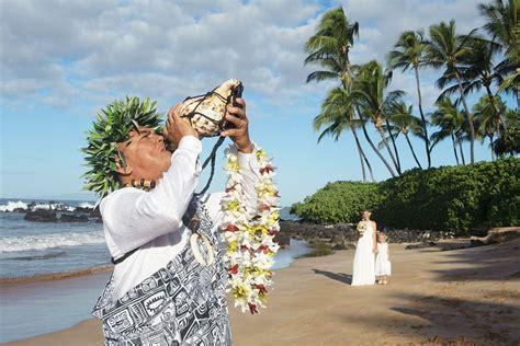 Ancient Hawaiian Weddings: Maui Wedding Planners, Just