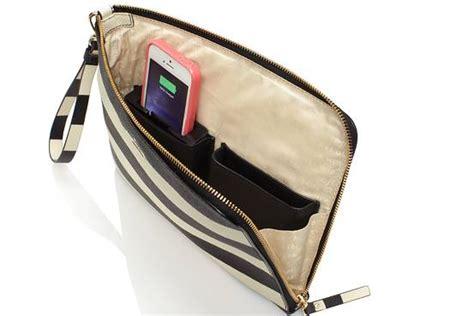 kate spade partners  startup everpurse  sell iphone charging bags venture capital