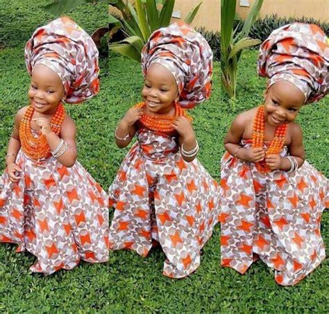 nigerian bridal hairstyles for children latest aso ebi styles for nigerian kids afrocosmopolitan