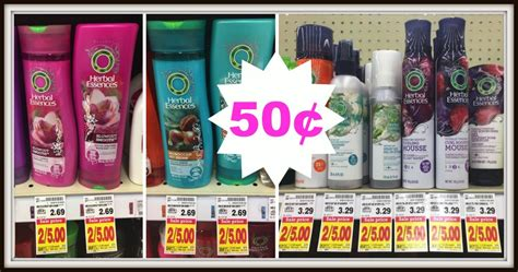 herbal essences products only 0 49 at kroger with new herbal essences shoo conditioner or stylers only 0 50