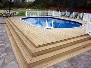 above ground pools decks designs how to repair how to build decks for above ground