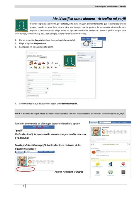 tutorial about edmodo tutorial alumnos edmodo