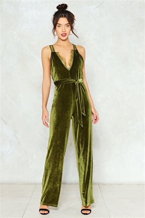 Trend Jumpsuit velvet jumpsuit trend is going to be hit designers