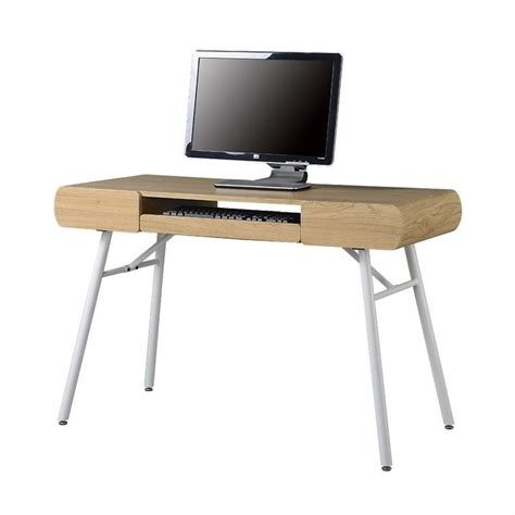 Assembled Office Desks Techni Mobili Semi Assembled Contemporary Computer Desk In Pine Rta 1458 Pn