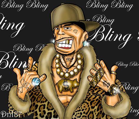 Bling Bling soviel bling bling um den hals bekommst du