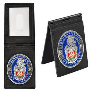 porte cartes plaque ovale gendarmerie sergequipement