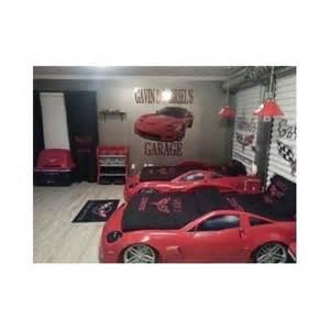 corvette bedroom corvette bedroom set bed race car dresser storage chest